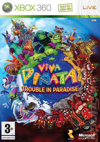 Viva Pi�ata: Trouble in Paradise - Xbox 360 Cover & Box Art