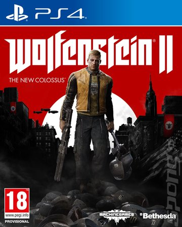 Wolfenstein II: The New Colossus Editorial image