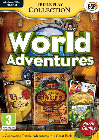 World Adventures Triple Pack - PC Cover & Box Art