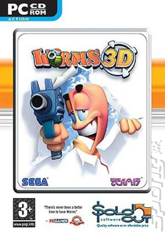 Worms 3D - PC Cover & Box Art