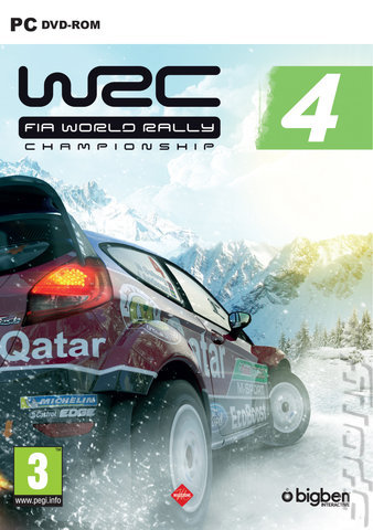WRC: FIA World Rally Championship 4 - PC Cover & Box Art