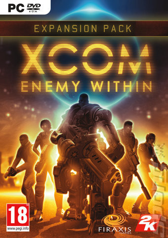 XCOM: Enemy Within: Commander Edition - PC Cover & Box Art