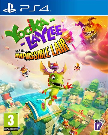 Yooka-Laylee and the Impossible Lair - PS4 Cover & Box Art