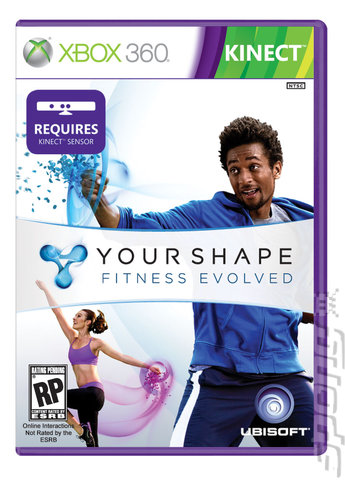 Your Shape: Fitness Evolved - Xbox 360 Cover & Box Art