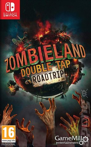 Zombieland: Double Tap: Road Trip - Switch Cover & Box Art
