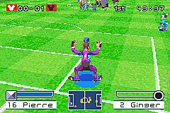 2 Disney Games: Disney Sports Skateboarding + Disney Sports Football - GBA Screen