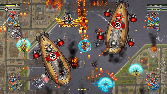 Aces of the Luftwaffe Squadron: Extended Edition - PS4 Screen