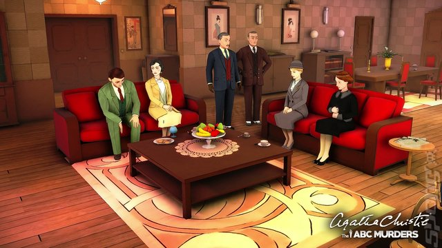 Agatha Christie: The ABC Murders - Xbox One Screen