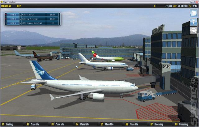 لعبة قيادة الطائرات بجميع انواعها Airport Simulator بحجم خــ