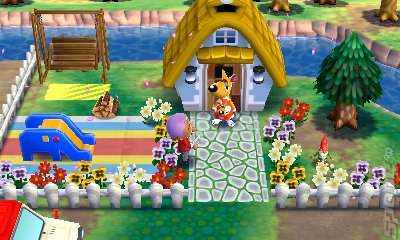 Animal Crossing: Happy Home Designer - 3DS/2DS Screen