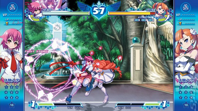 Arcana Heart 3 LOVE MAX!!!!! - PSVita Screen