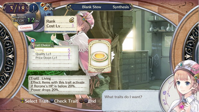 Atelier Rorona Plus: The Alchemist Of Arland - PS3 Screen