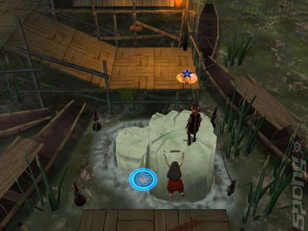 Avatar: The Legend of Aang - Into the Inferno - PS2 Screen