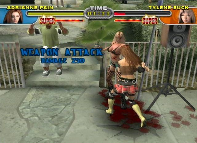 Screens: Backyard Wrestling 2: There Goes the Neighborhood ...