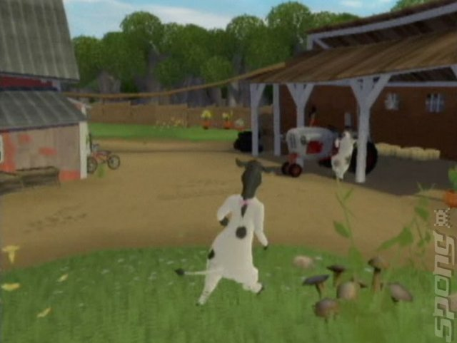 Barnyard - GameCube Screen.
