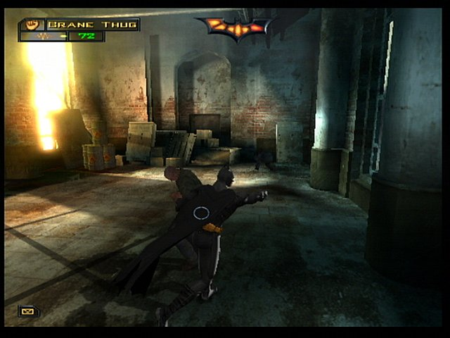 Batman Begins - PS2 Screen