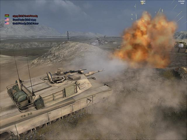 Battlefield 2 - PC Screen
