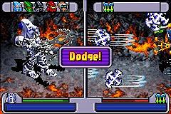 Bionicle: Maze of Shadows - GBA Screen