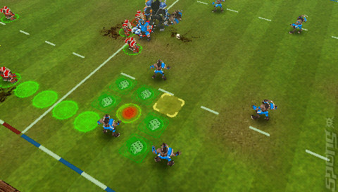 Blood Bowl  - PSP Screen