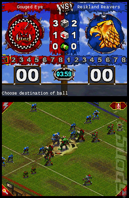 Blood Bowl  - DS/DSi Screen
