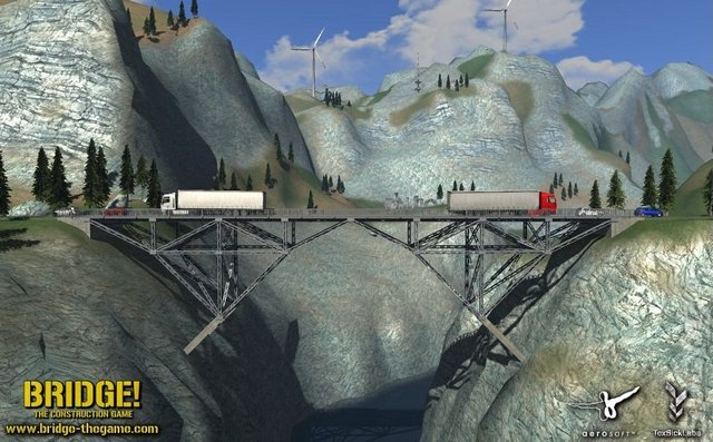 Bridge! The Construction Game - PC Screen