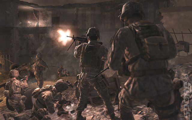 call of duty modern warfare 4 wallpaper. Call of Duty 4: Modern Warfare