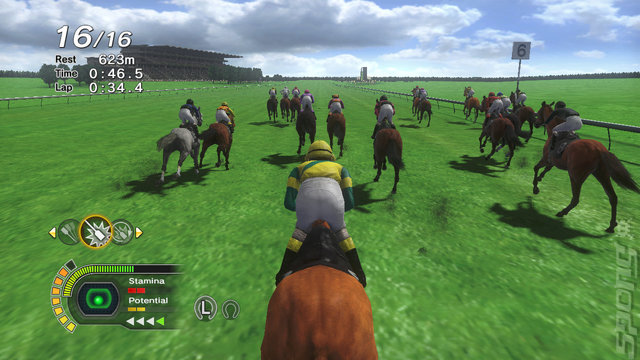 champion jockey horse games