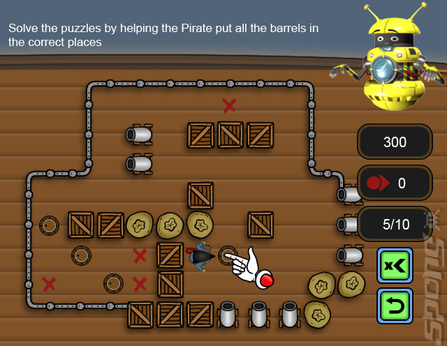 Clever Kids: Pirates - PC Screen