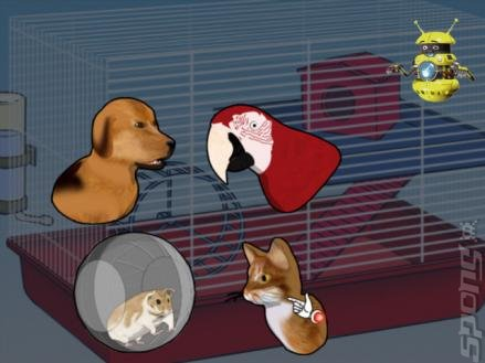 Clever Kids: Pet Store - Wii Screen