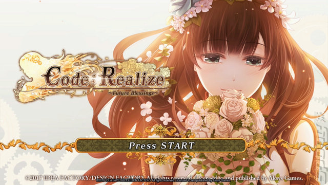 Code: Realize ~Wintertide Miracles~ - PSVita Screen
