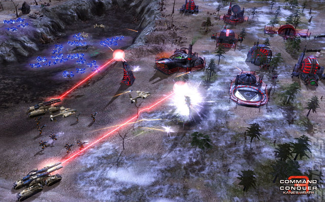 Command and Conquer 3: Kane's Wrath - Xbox 360 Screen