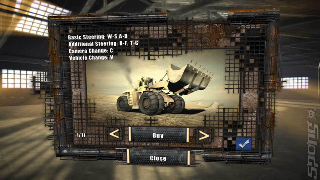 Construction Machines 2014 - PC Screen