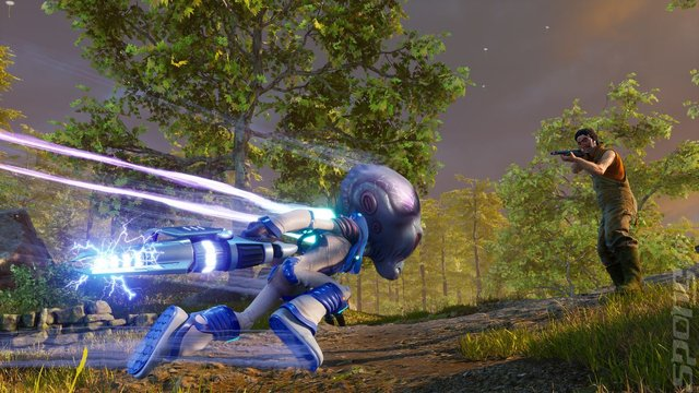 Destroy All Humans! - PC Screen
