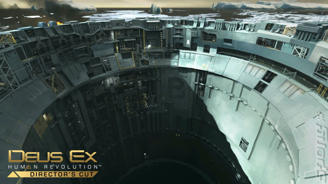 Deus Ex: Human Revolution: Director's Cut - PC Screen