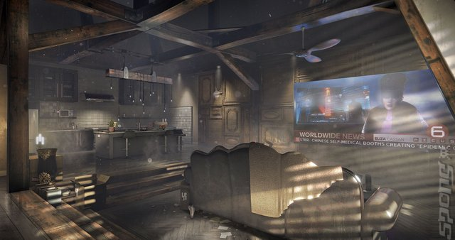 Deus Ex: Mankind Divided - PC Screen