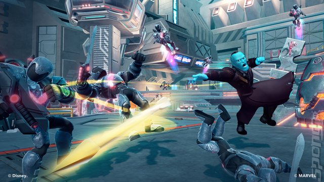 Disney Infinity 2.0: Marvel Superheroes - Xbox 360 Screen
