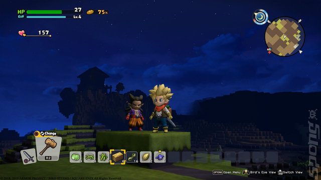 Dragon Quest Builders 2 - Switch Screen