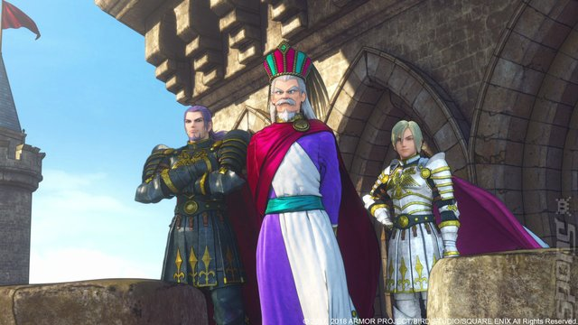 DRAGON QUEST XI: Echoes of an Elusive Age: Definitive Edition - Switch Screen