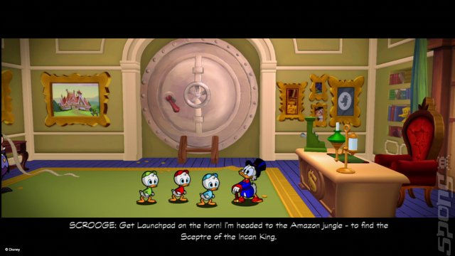 DuckTales: Remastered - PS3 Screen