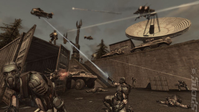 Enemy Territory: Quake Wars - PS3 Screen