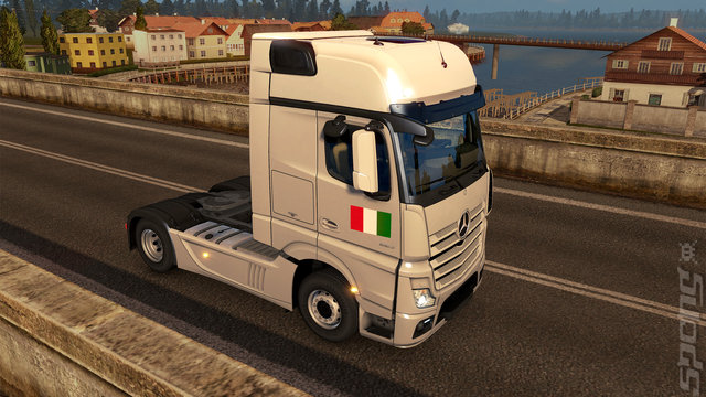 Euro Truck Simulator 2: Italia - PC Screen