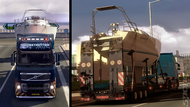Euro Truck Simulator 2: Cargo Collection Add-on - PC Screen