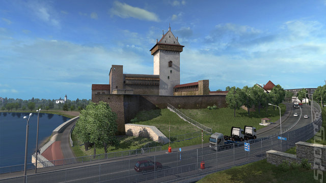 Euro Truck Simulator 2: Beyond the Baltic Sea Bundle - PC Screen