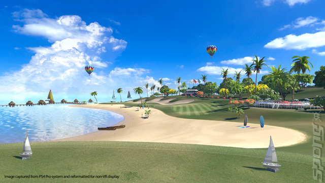 Everybody's Golf VR - PS4 Screen