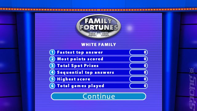 Screens: Family Fortunes - Wii (5 of 15)