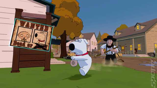 Family Guy: Back To The Multiverse - PS3 Screen