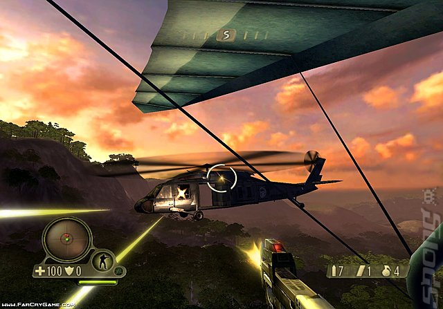 Far Cry Instincts Evolution - Xbox Screen