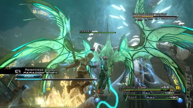 Final Fantasy XIII - Xbox 360 Screen