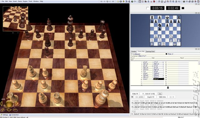 Fritz Chess 11 - PC Screen