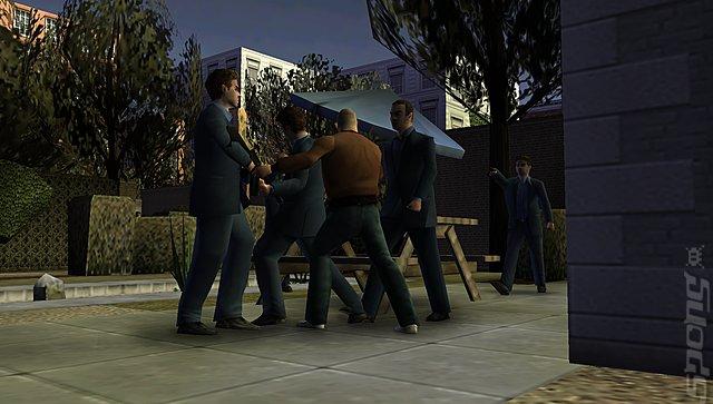 Gangs of London - PSP Screen